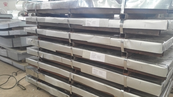 Chiny Cold Rolled Steel Plate 6mm Thick Galvanized Steel Sheet Metal Minimum Spangle dostawca