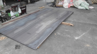 Chiny S355J0W Hot Rolled Carbon Flat Steel Plate  A S355JOWP 3-20MM 2000*6000 dostawca