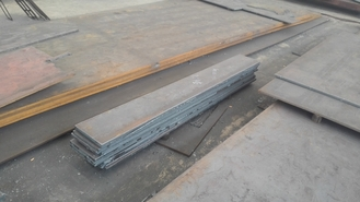 Chiny GB Q345 Hot Rolled Froged Low Alloy Carbon Steel Plate , Hot Rolled Steel Plate dostawca