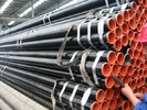 Chiny API 5L Astm A53 A106 Seamless Steel Pipe With Black Coating Bevelled End And Caps fabryka