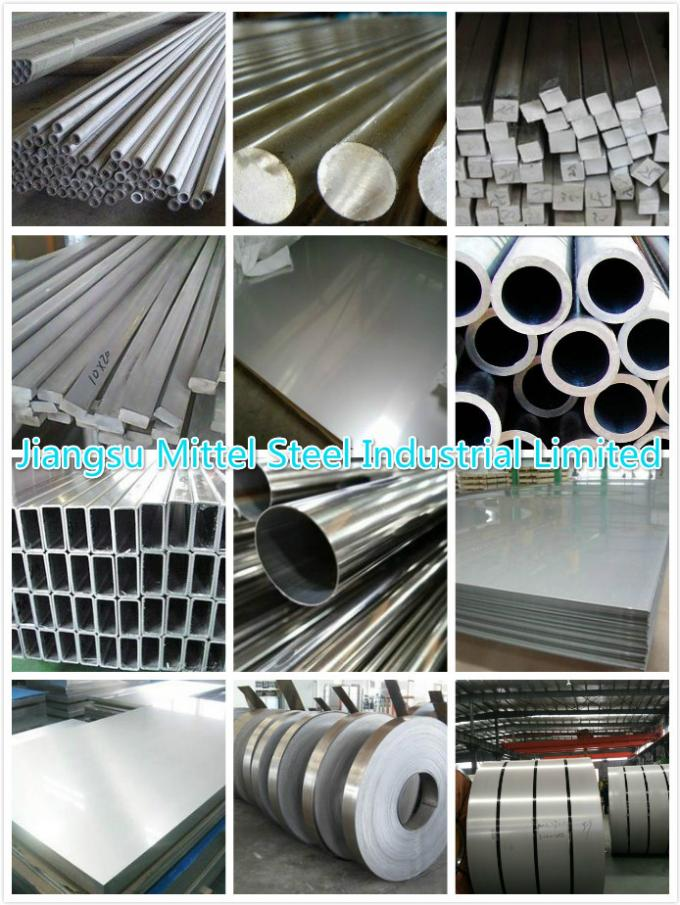 A312 304 Polish Inner / Outside Stainless Steel Seamless Tube For Food Industry